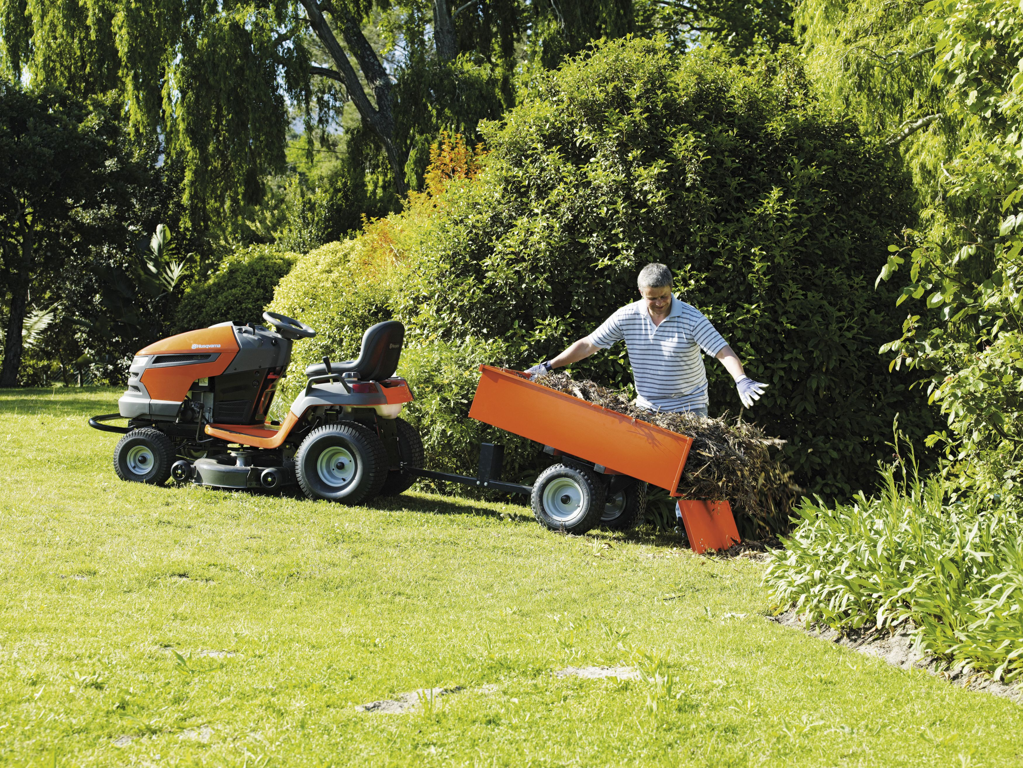 Tractor de Jardín, una solución para todo el año
