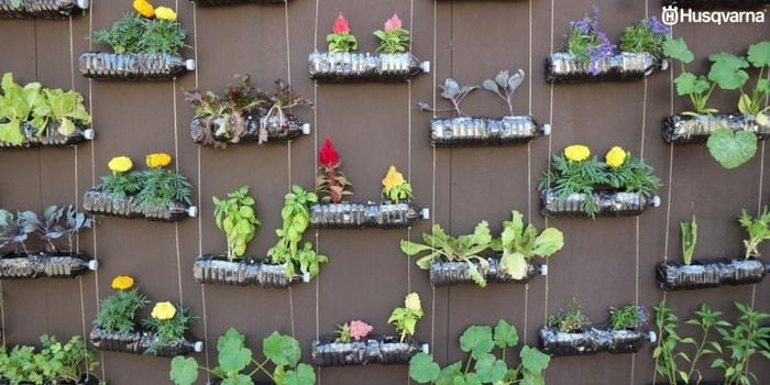 Cultiva tus propias verduras y hortalizas en los huertos - Huerto vertical casero ...