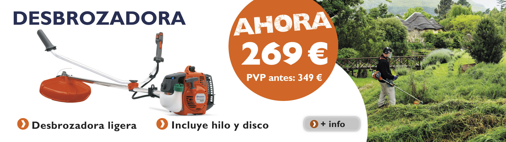 Desbrozadoras Semiprofesionales 48 128R.Html?Utm_Source=Banners%20Web&Utm_Medium=Banner%20Slide%201&Utm_Campaign=Banners%20Web