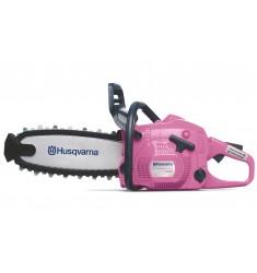 Motosierra rosa de juguete