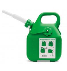 Bidón gasolina verde