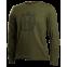 Camiseta manga larga con logo camuflaje