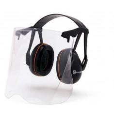 Protectores auriculares Gardener con visor