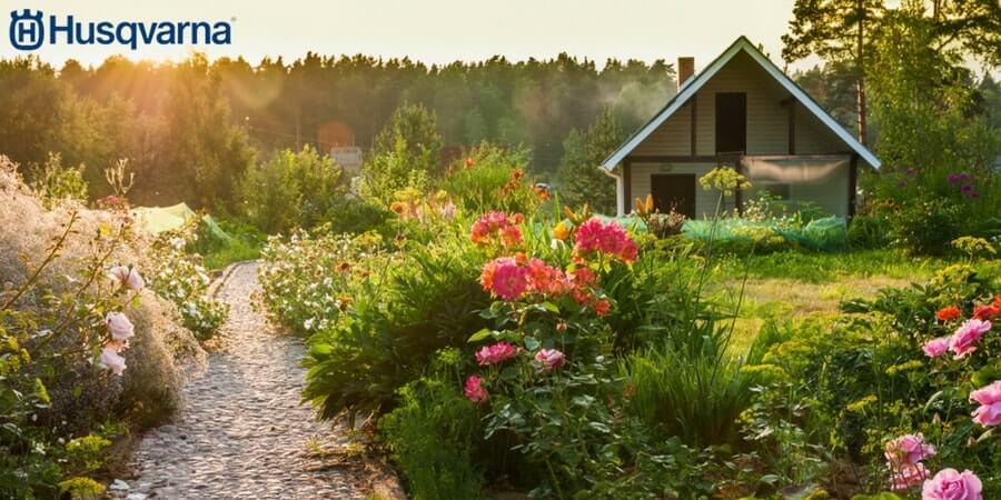 Si no sabes cómo decorar un jardín pequeño, inspírate con Husqvarna